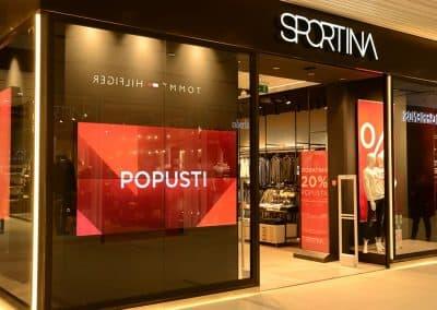Sportina Store Belgrade Serbia