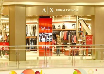 Armani Exchange Belgrade Serbia